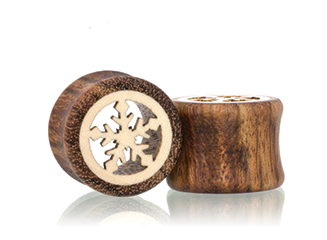 Chechen Snowflake Tunnel Plugs
