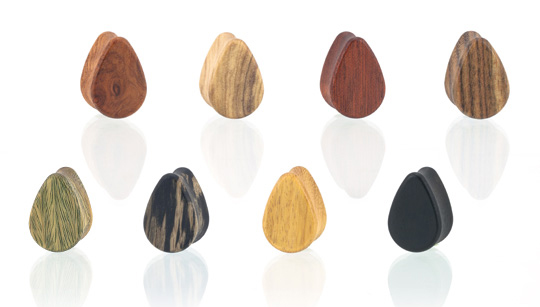 Teardrop Shaped Plugs