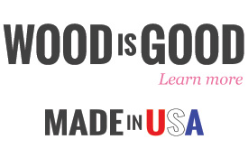Wood is good & USA