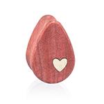 Side Heart Teardrops