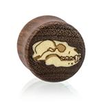 Inlay Bear Skull