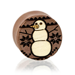 Snowman Sweater Plugs