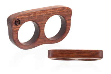 2 Finger Ring - Bloodwood