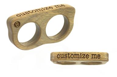 Custom 2 Finger Ring - Verawood
