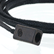 Cz Cord Wrap - Black