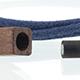 Cz Cord Wrap - Blue