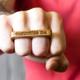 Custom 2 Finger Ring - Bloodwood