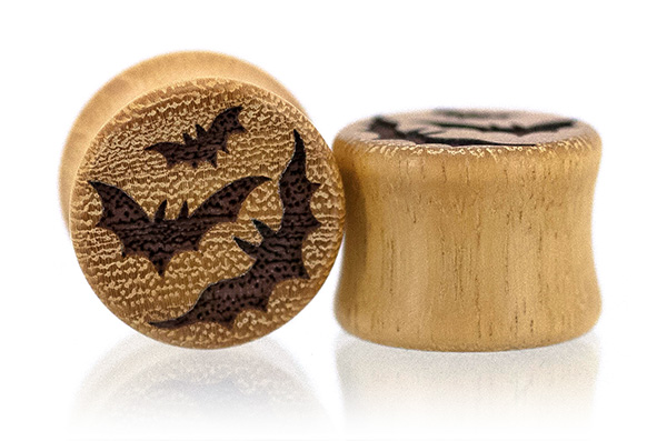 Osage Orange Bat plugs