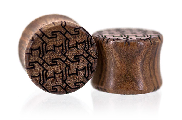 Chechen Cat Tessellation Plugs