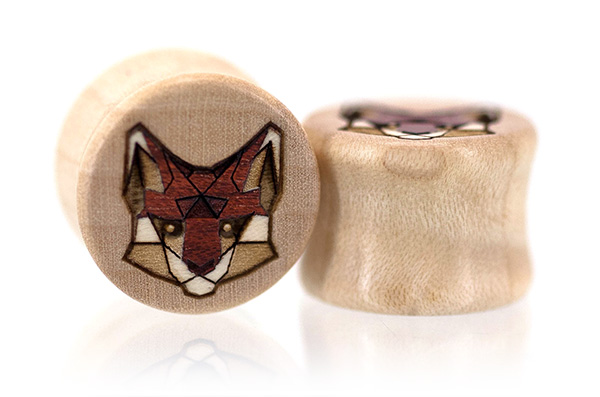 Tangranimal Plugs - Fox