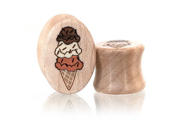 Ice Cream Oval Plugs