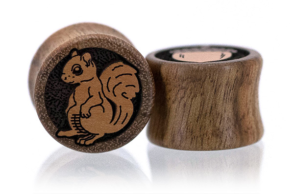 Chechen Lucky Squirrel Plugs
