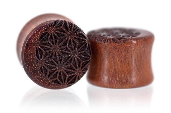 Bloodwood Luna Plugs