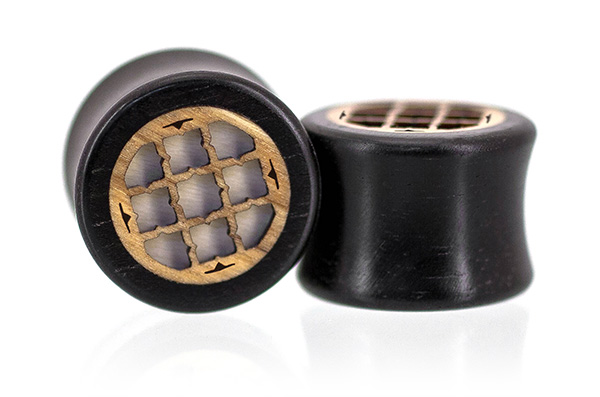 Ebony Motif Plugs