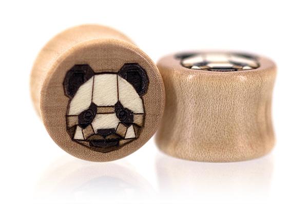 Tangranimal Plugs - Panda