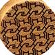 Curly Maple Cat Tessellation Plugs