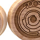 Maple Crop Circle Plugs