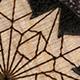 Blue Mahoe Origami Snowflake Plugs