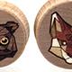 Tangranimal Plugs - Raccoon