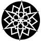 Cherry 1 3/4+ Geometric Snowflakes
