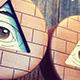 All-Seeing Eye - BW/CM