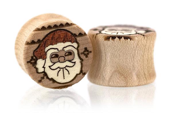 Curly Maple Santa Sweater Plugs