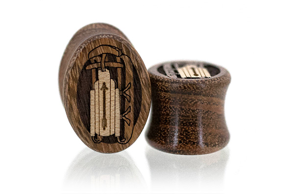 Chechen Sled Oval Plugs