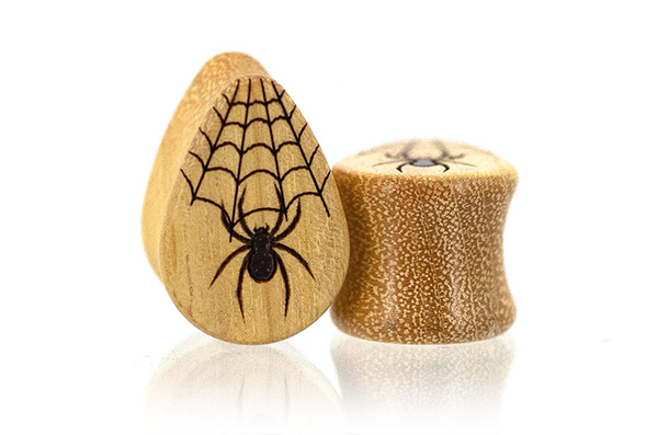Osage Spider Teardrop Plugs