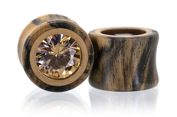 Tiger Ebony Champ CZ Plugs