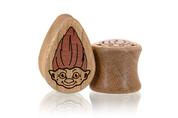 Troll Teardrop Plugs