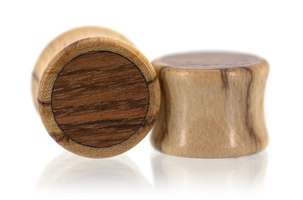 WildOlive / Chechen Inlay Plugs