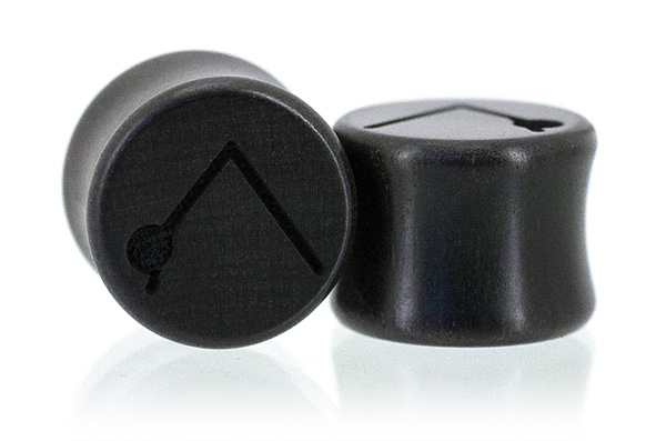 Ebony Yoga Plugs