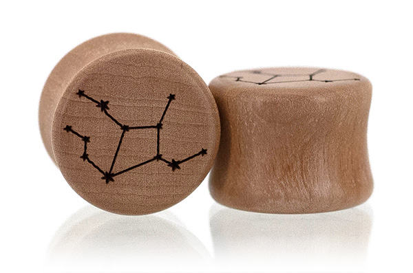 Swiss Pear Zodiac Constellation Plugs