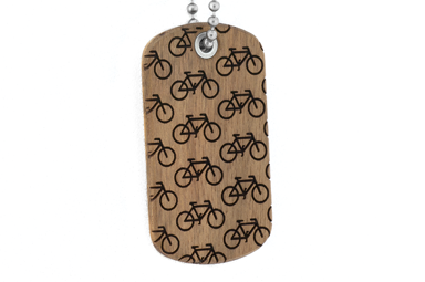 Bike More Dog Tag - Chechen