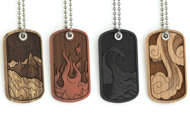 4 Elements Dog Tag Package
