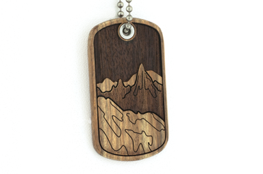 4 Elements Dog Tag - Earth