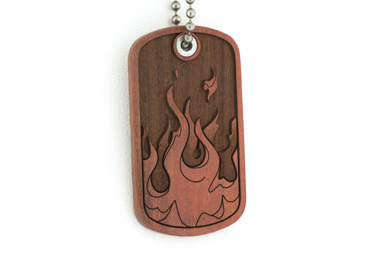 4 Elements Dog Tag - Fire
