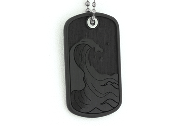 4 Elements Dog Tag - Water