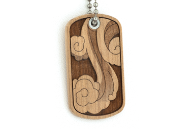 4 Elements Dog Tag - Wind