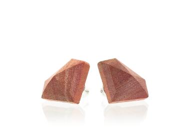 Diamond Earrings - Pink Ivory