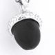 Acorn Pendant - Silver