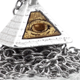 All-seeing Eye Pendant - Silver