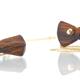 Bow Tie Pendant - Cocobolo
