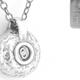 Initials Pendant - Silver