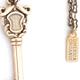 Key Pendant - Bronze