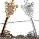 Key Pendant - Silver