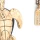 Turtle Pendant - Bronze