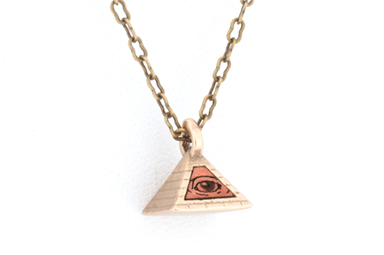 All Seeing Eye Pendant - Bronze