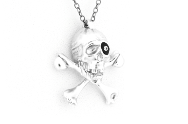 Willy Pendant - Silver