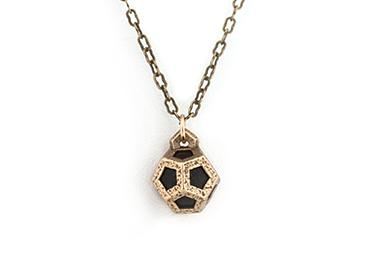 Dodeca Pendant - Bronze